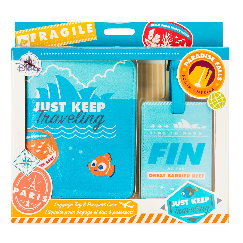 Finding Nemo Luggage Tag & Passport Case – Oh My Disney