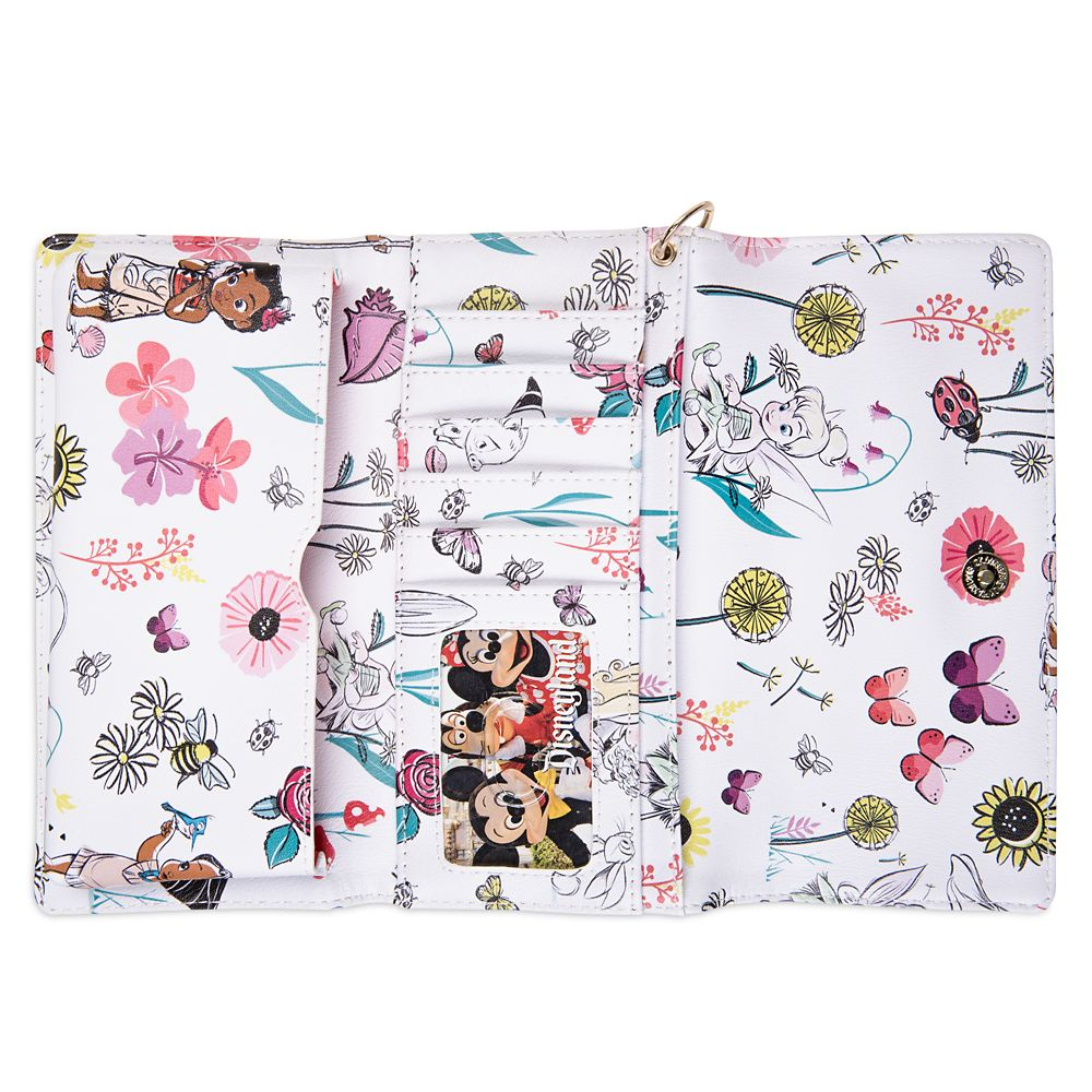 Disney Animators' Collection Tri-Fold Wallet for Adults