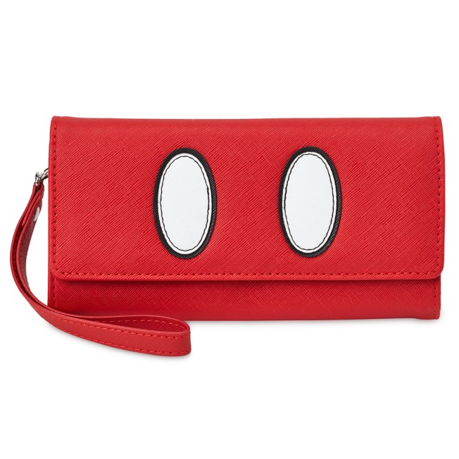 Mickey Mouse Red Wristlet Wallet