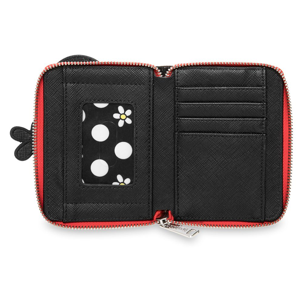 Minnie Mouse ''Positively Minnie'' Zip Around Wallet by Loungefly