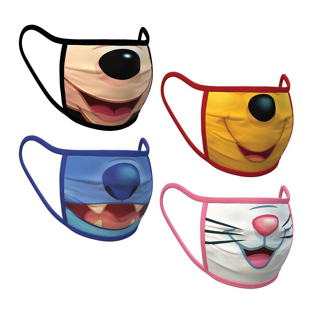 Disney Cloth Face Masks 4-Pack Set – Pre-Order