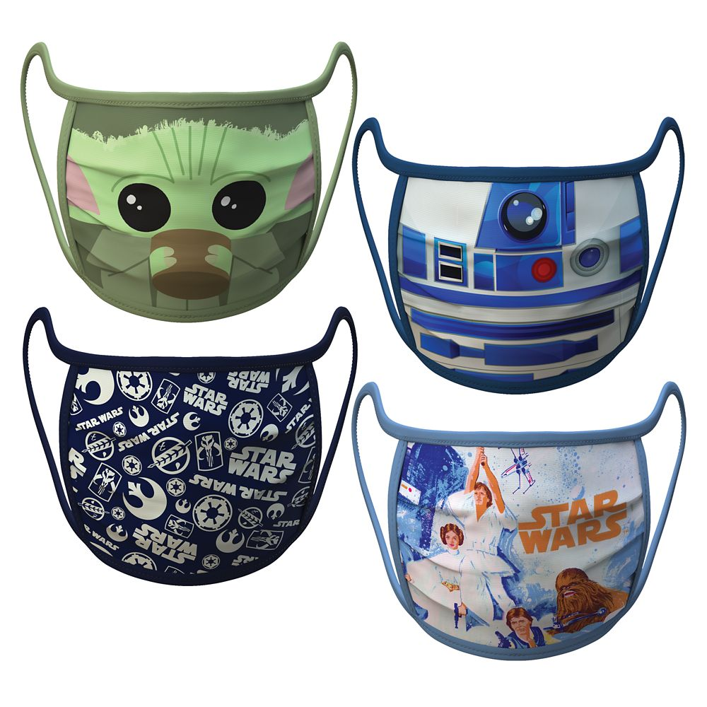 Star Wars Cloth Face Masks 4-Pack Set – Pre-Order