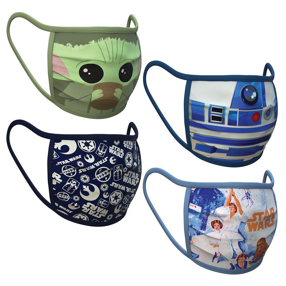 Large – Star Wars Cloth Face Masks 4-Pack Set – Pre-Order