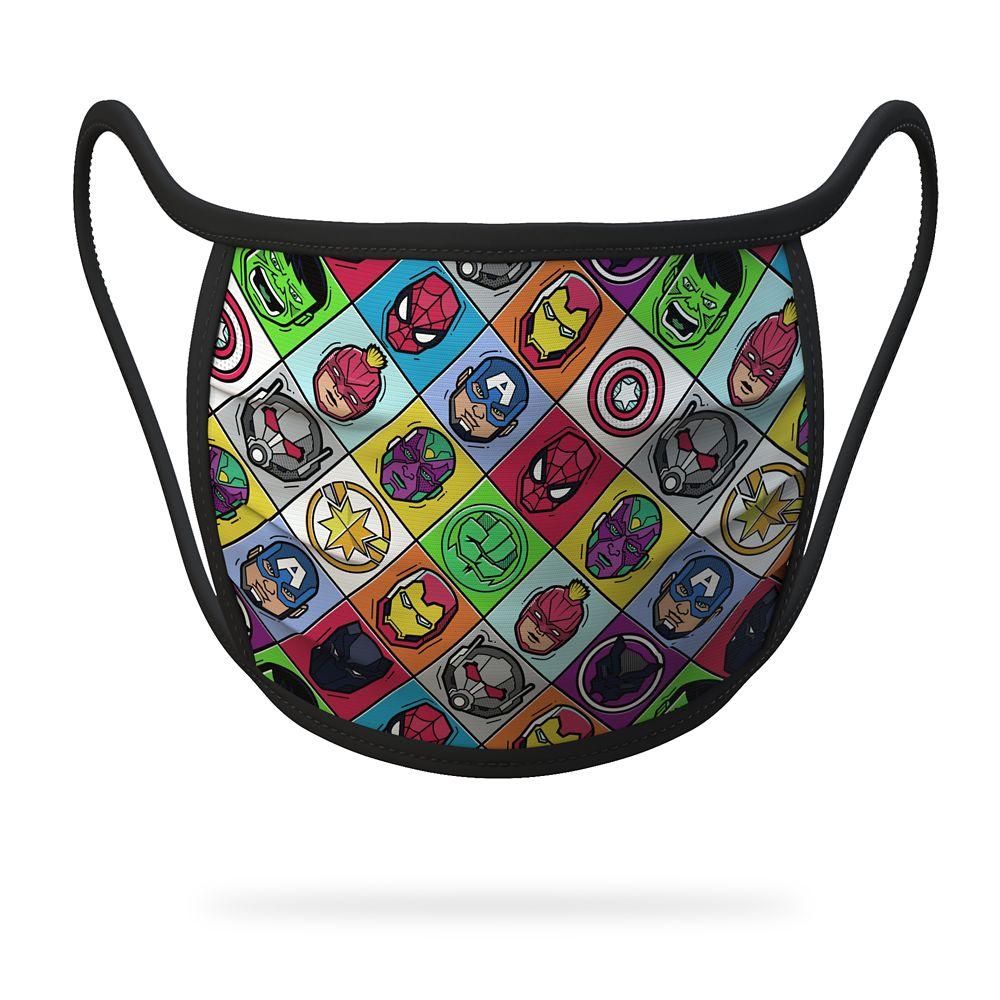 Youth Medium – Marvel Cloth Face Masks 4-Pack Set – Pre-Order