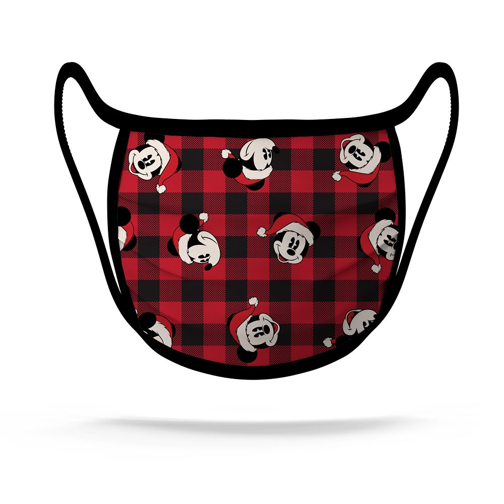 Cloth Face Masks 2-Pack – Mickey Mouse and Friends Holiday – Limited Release
