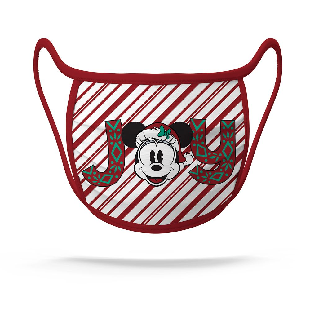 Cloth Face Masks 2-Pack – Mickey and Minnie Mouse Joy – Limited Release