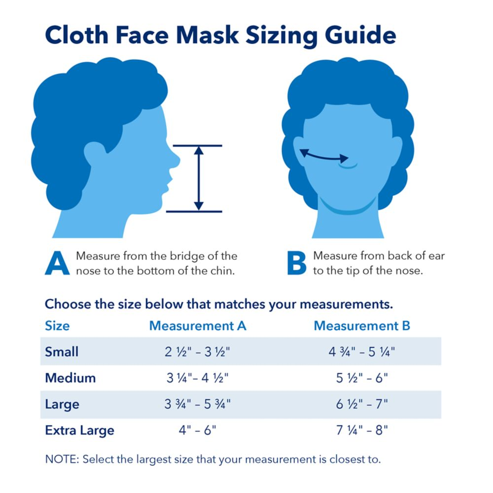 Cloth Face Masks 2-Pack – Mickey and Minnie Mouse Food Icons