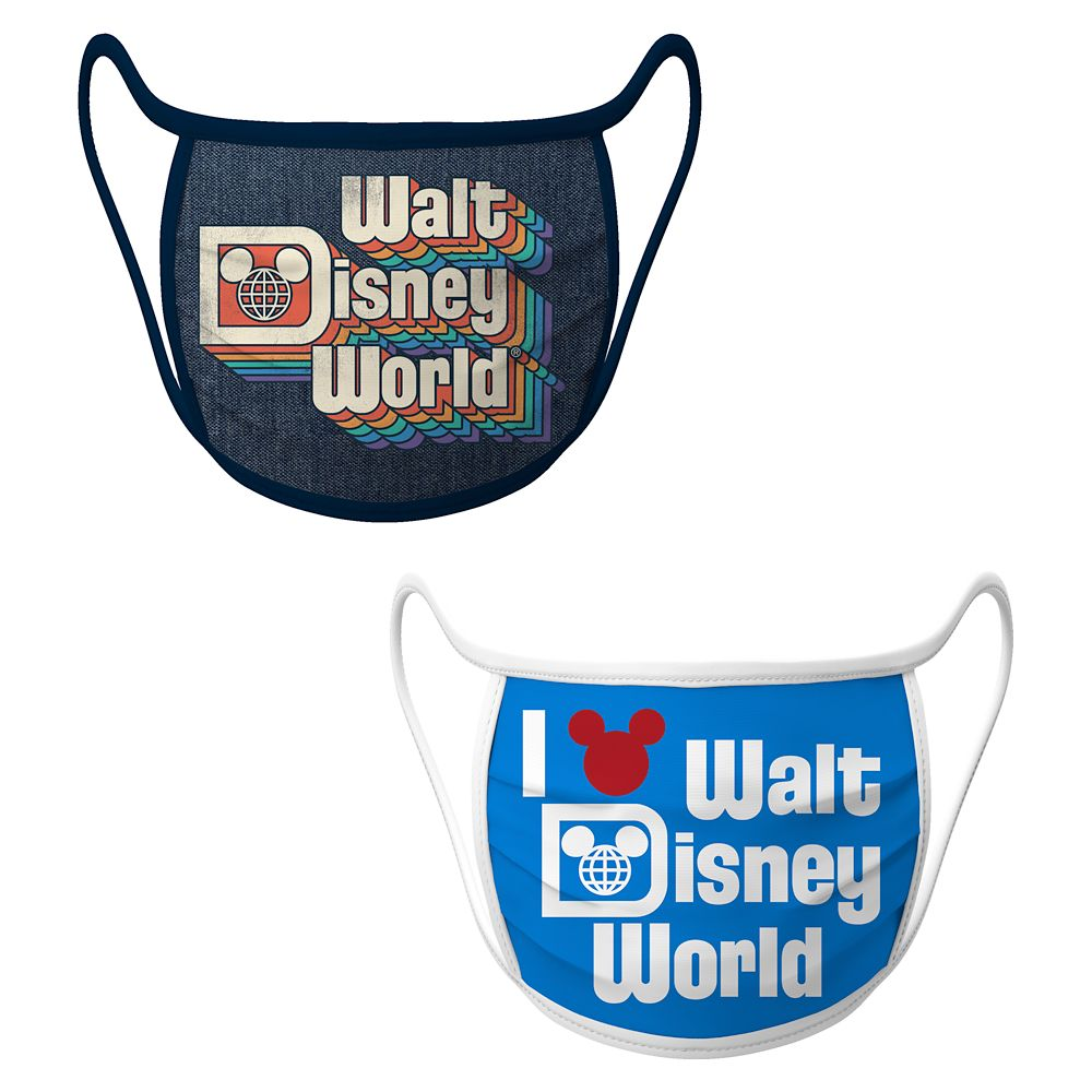 Cloth Face Masks 2-Pack – Walt Disney World