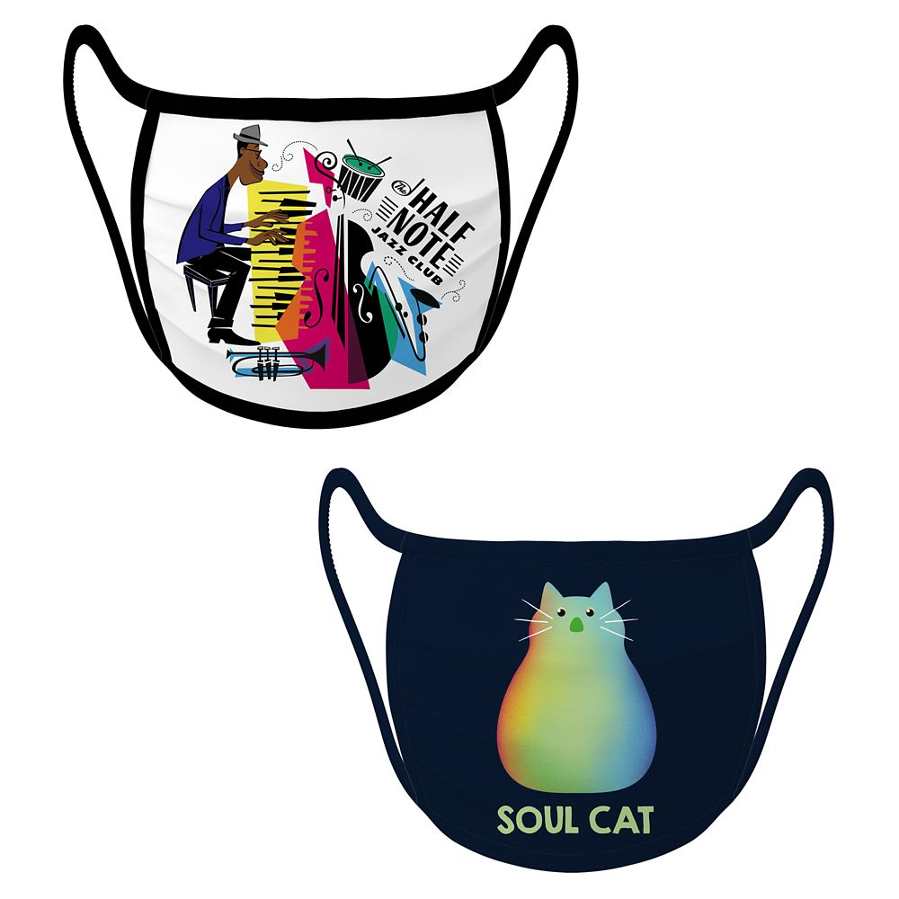 Cloth Face Masks 2-Pack  Soul  Limited Release Official shopDisney