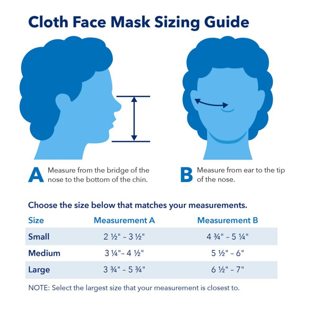 Cloth Face Masks 2-Pack – Frozen