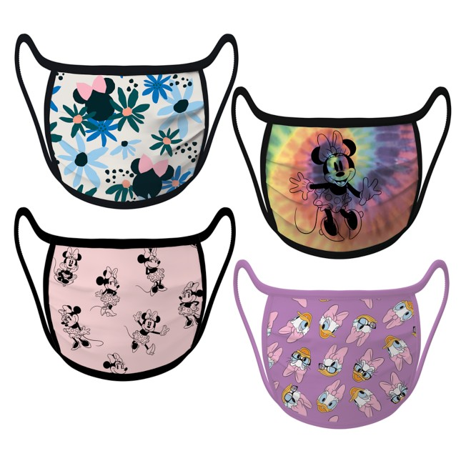 Cloth Face Masks 4-Pack – Minnie Mouse and Daisy Duck
