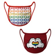 Cloth Face Masks 2-Pack – Rainbow Disney Collection