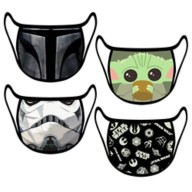 Cloth Face Masks 4-Pack – Star Wars – Set 2