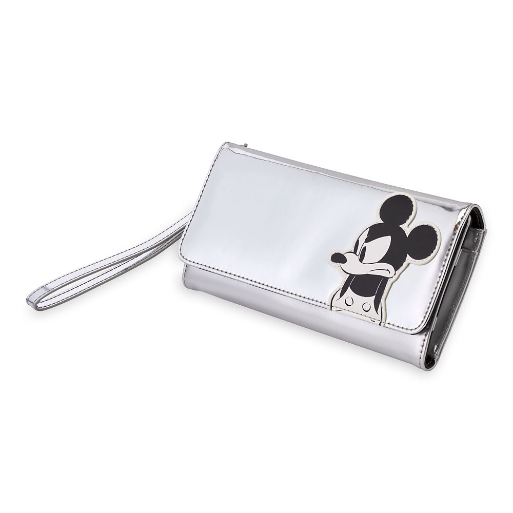 Mickey Mouse Grayscale Wallet