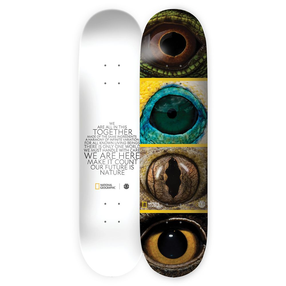 National Geographic Eye Skateboard Deck by Element