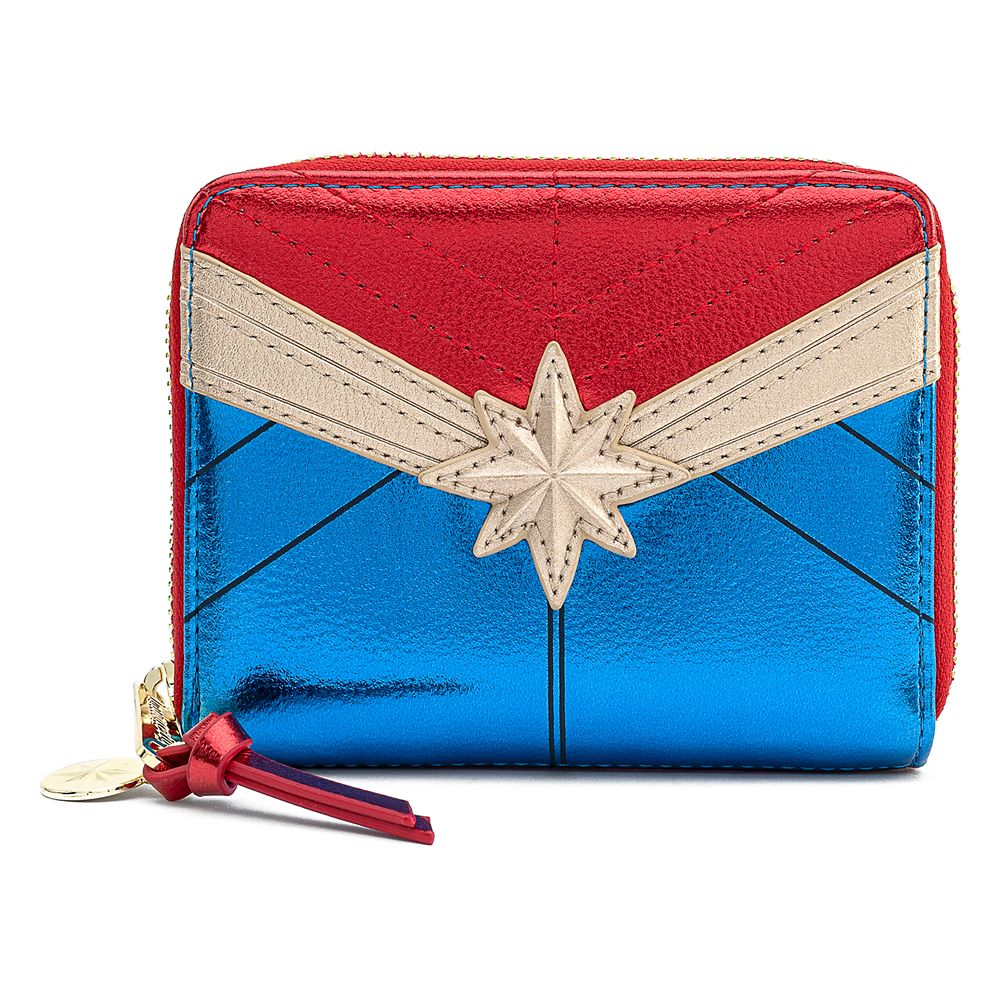 Marvel's Captain Marvel Metallic Wallet by Loungefly