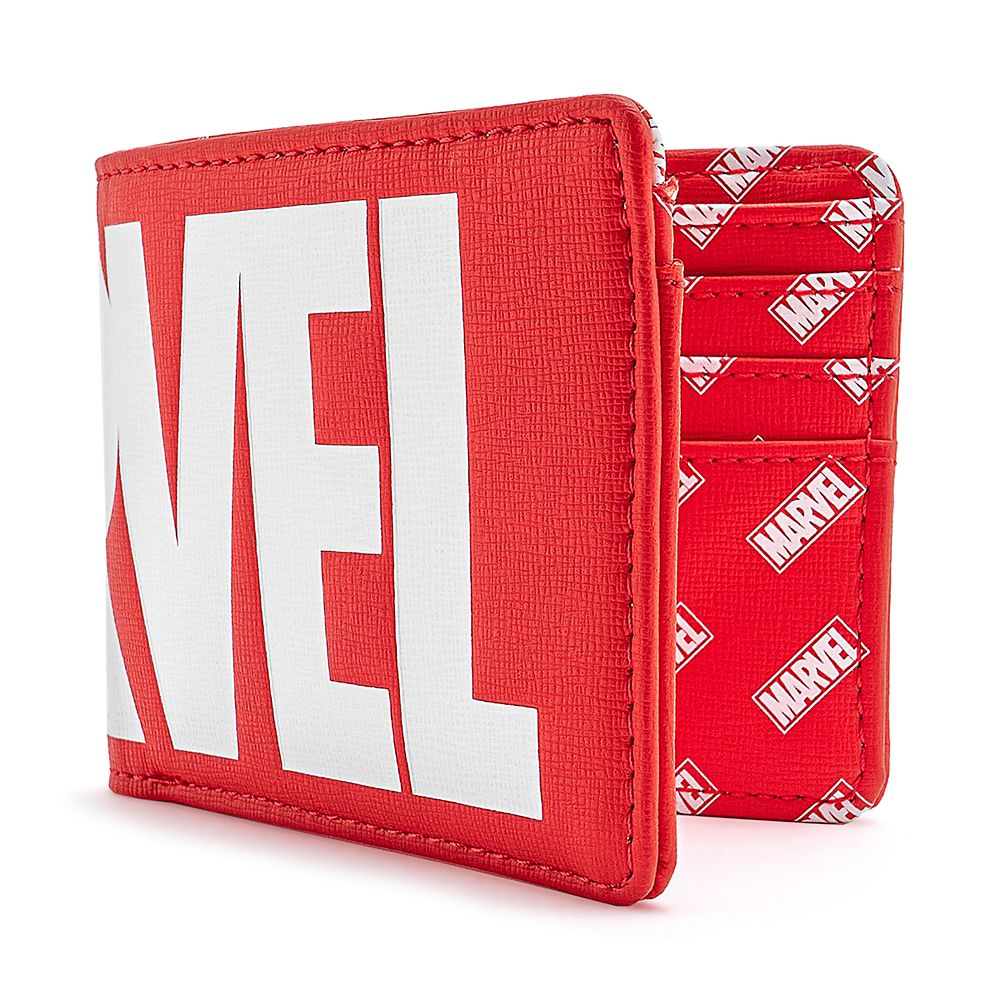 shopdisney.com - Marvel Logo Loungefly Bifold Wallet Official shopDisney 30.00 USD