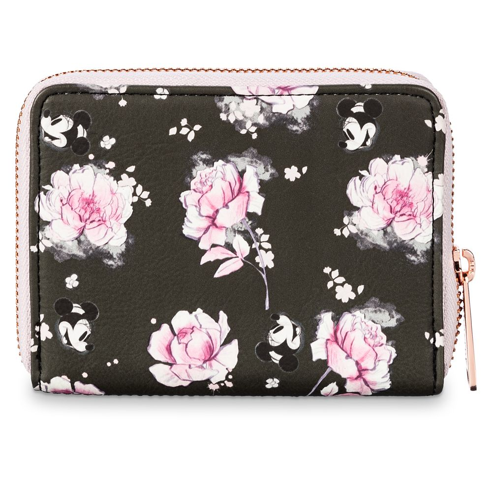 Minnie Mouse Floral Wallet by Loungefly