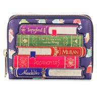 Disney Princess Storybook Loungefly Zipper Wallet