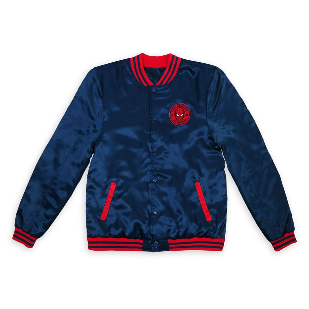Spider-Man Varsity Jacket for Men