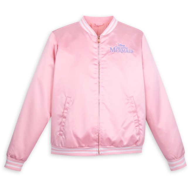 Ariel Satin Varsity Jacket for Women – The Little Mermaid
