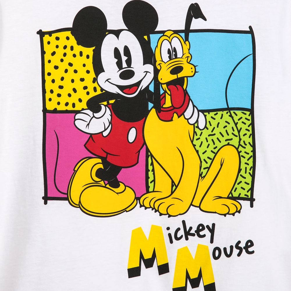 Mickey Mouse and Pluto T-Shirt for Adults – Mickey & Co.