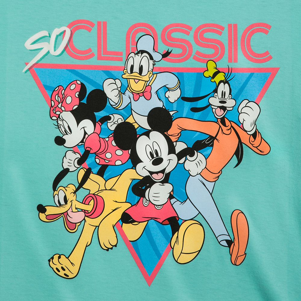 Mickey Mouse and Friends ''So Classic'' T-Shirt for Adults – Mickey & Co.