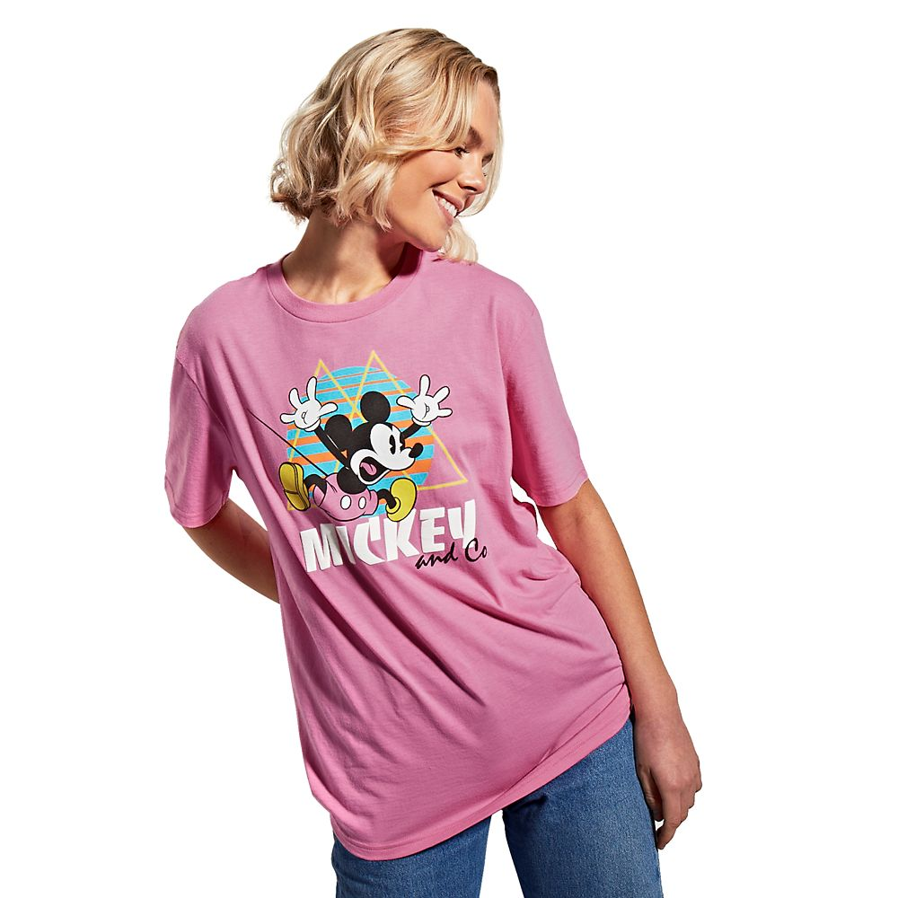 Mickey Mouse Retro T-Shirt for Adults – Mickey & Co.