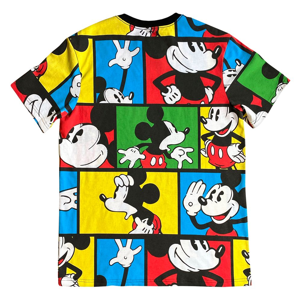 Mickey Mouse Pop Art T-Shirt for Adults – Mickey & Co.