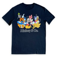Mickey Mouse and Friends T-Shirt for Adults – Mickey & Co.