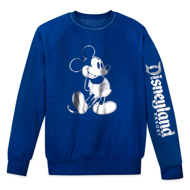 Mickey Mouse Sweatshirt for Adults – Disneyland – Wishes Come True Blue