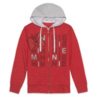 Minnie Mouse Name Zip Hoodie for Women
