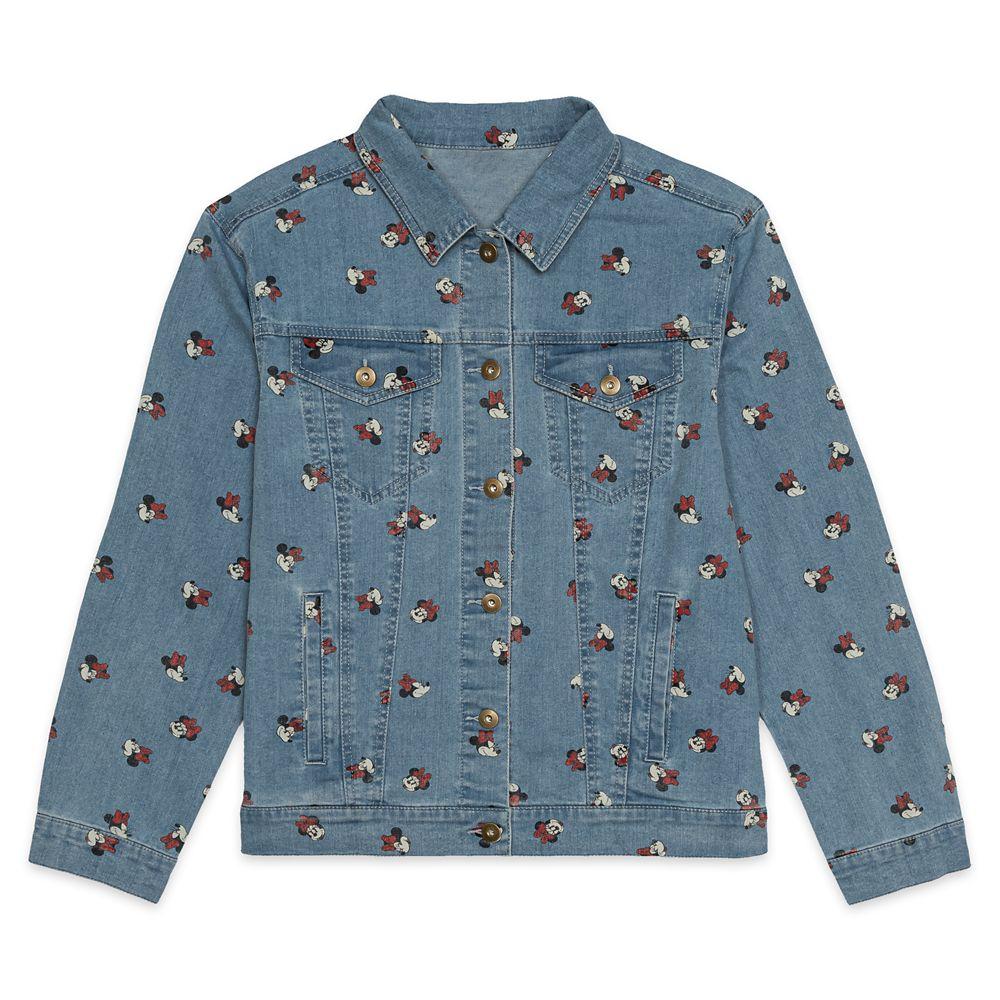 Minnie Mouse Denim Jacket for Women