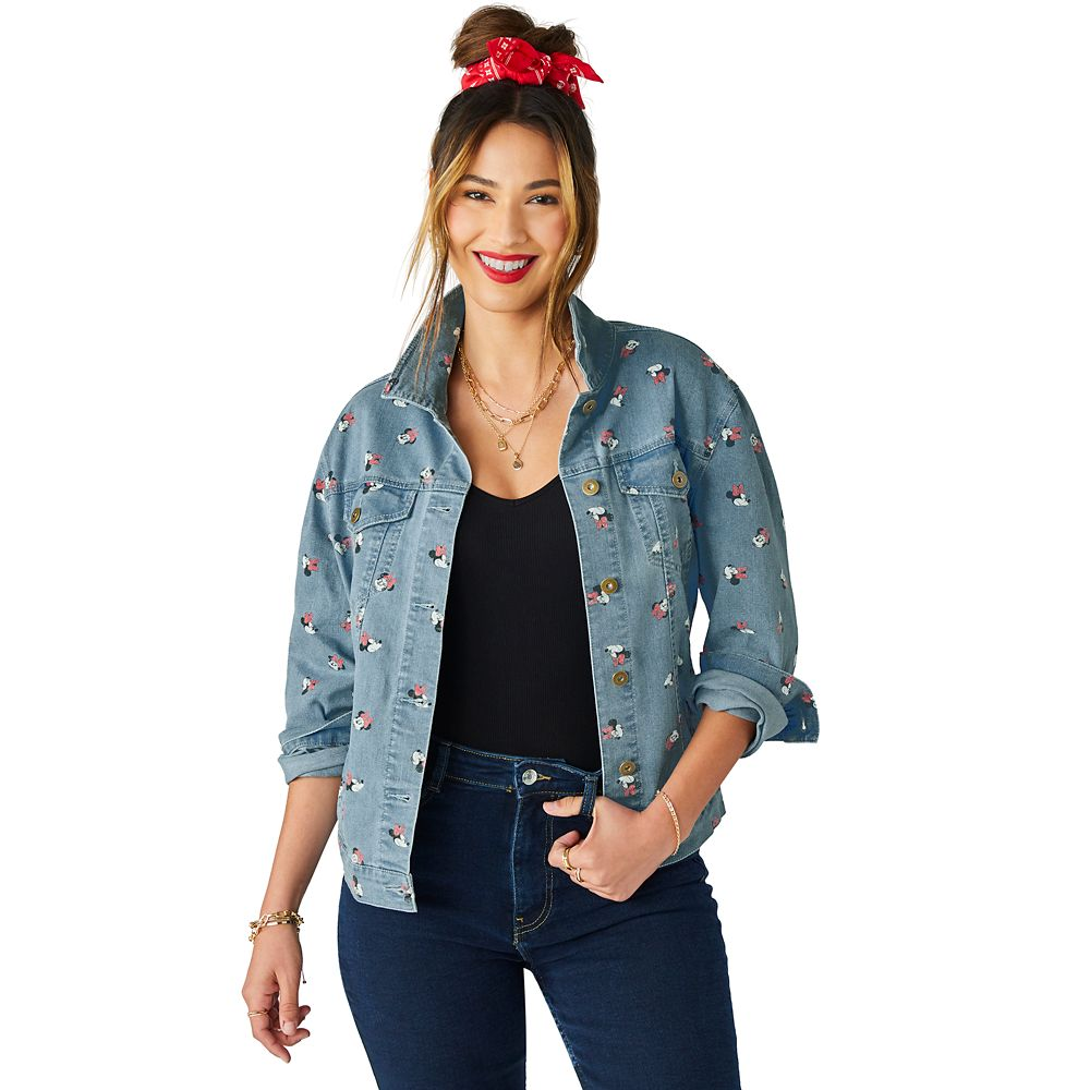 Minnie Mouse Denim Jacket for Women