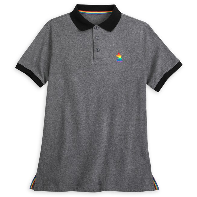 Mickey Mouse Polo Shirt for Adults – Rainbow Disney Collection