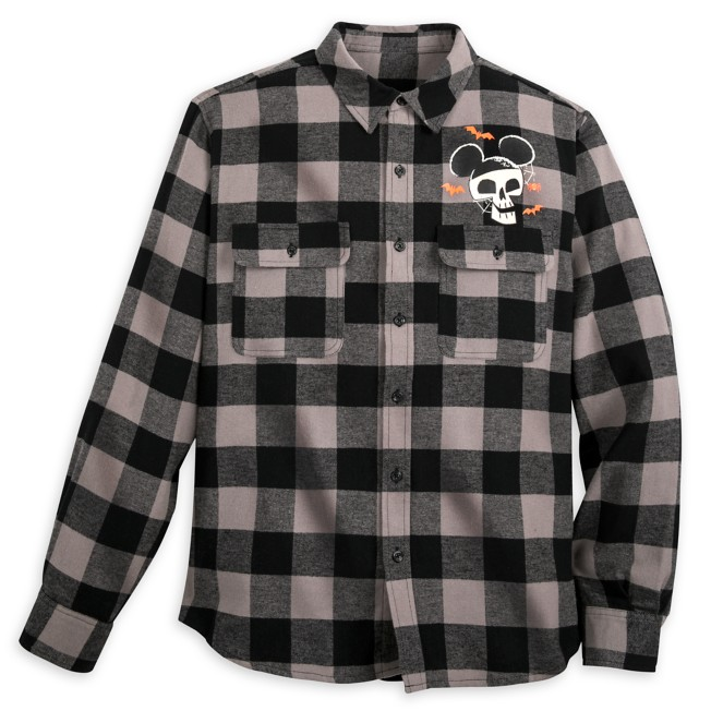Halloween Flannel Shirt for Adults
