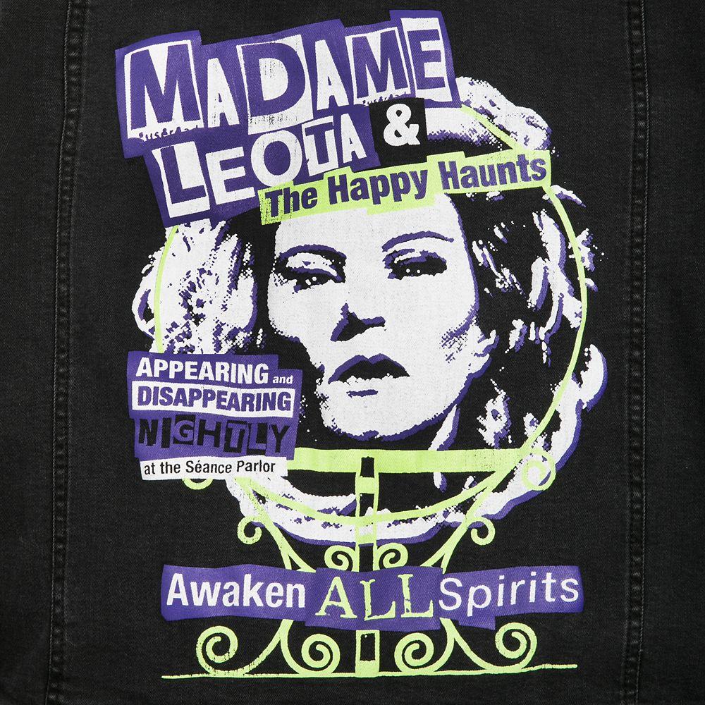 Madame Leota Denim Jacket for Women – The Haunted Mansion