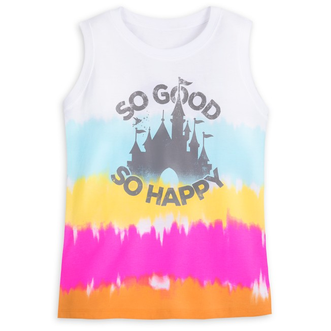 Fantasyland Castle Tank Top for Adults