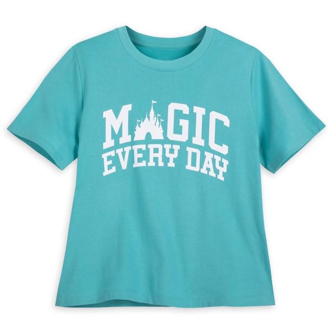 Fantasyland Castle Semi-Crop T-Shirt for Adults