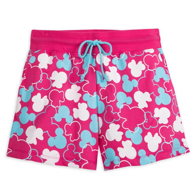 Mickey and Minnie Mouse Icon Gym Shorts for Adults – Disneyland