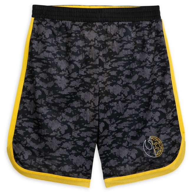 Star Wars Logo Athletic Shorts for Adults