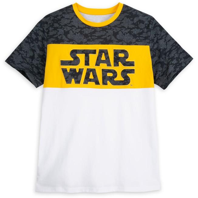 Star Wars Logo Fashion T-Shirt for Adults