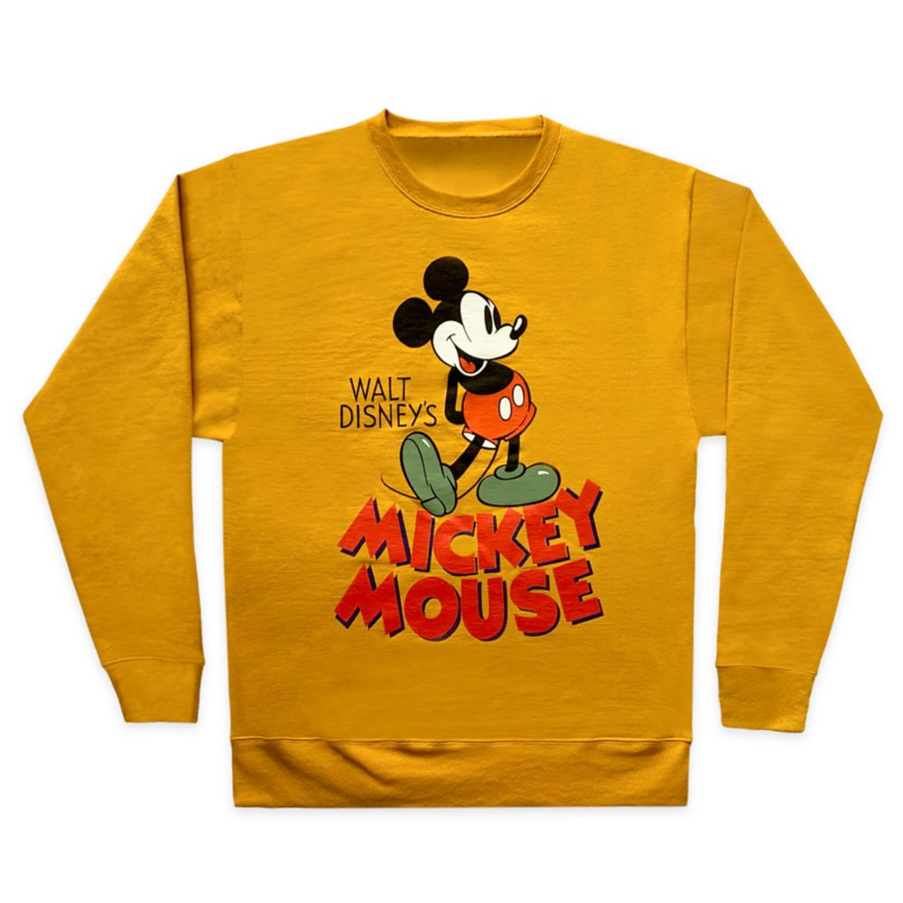 Mickey Mouse Vintage Pullover Sweatshirt for Adults