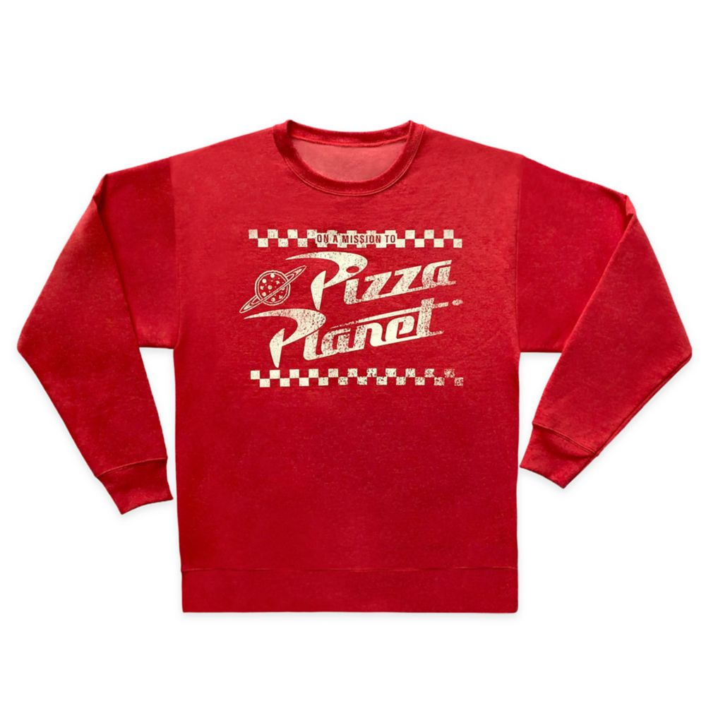 Pizza Planet Pullover Sweatshirt for Adults – Toy Story