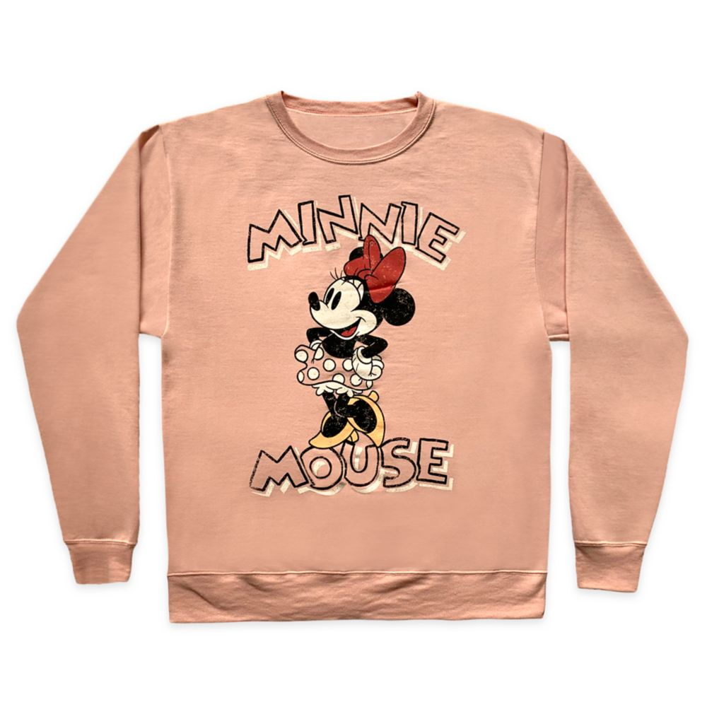 Minnie Mouse Pullover Sweatshirt for Adults
