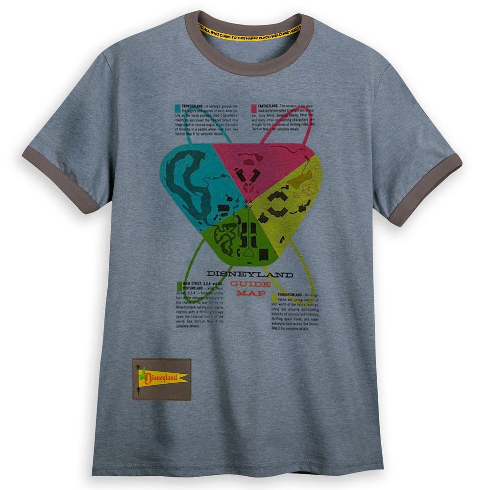 shopdisney.com - Disneyland Guide Book T-Shirt for Adults 24.99 USD