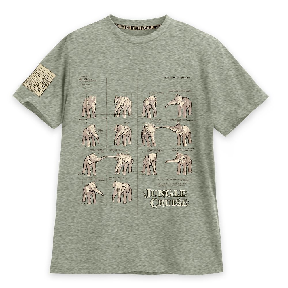 Jungle Cruise at Disneyland Resort T-Shirt for Adults – Disney Parks – Limited Release