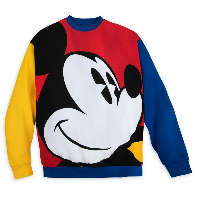 Mickey Mouse Pullover Sweatshirt for Adults – Mickey & Co.