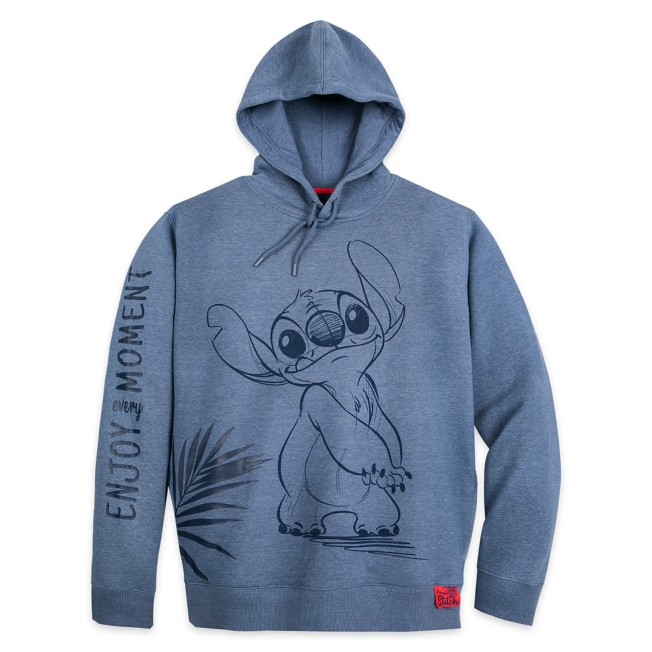 Stitch Pullover Hoodie for Adults – Disneyland Paris
