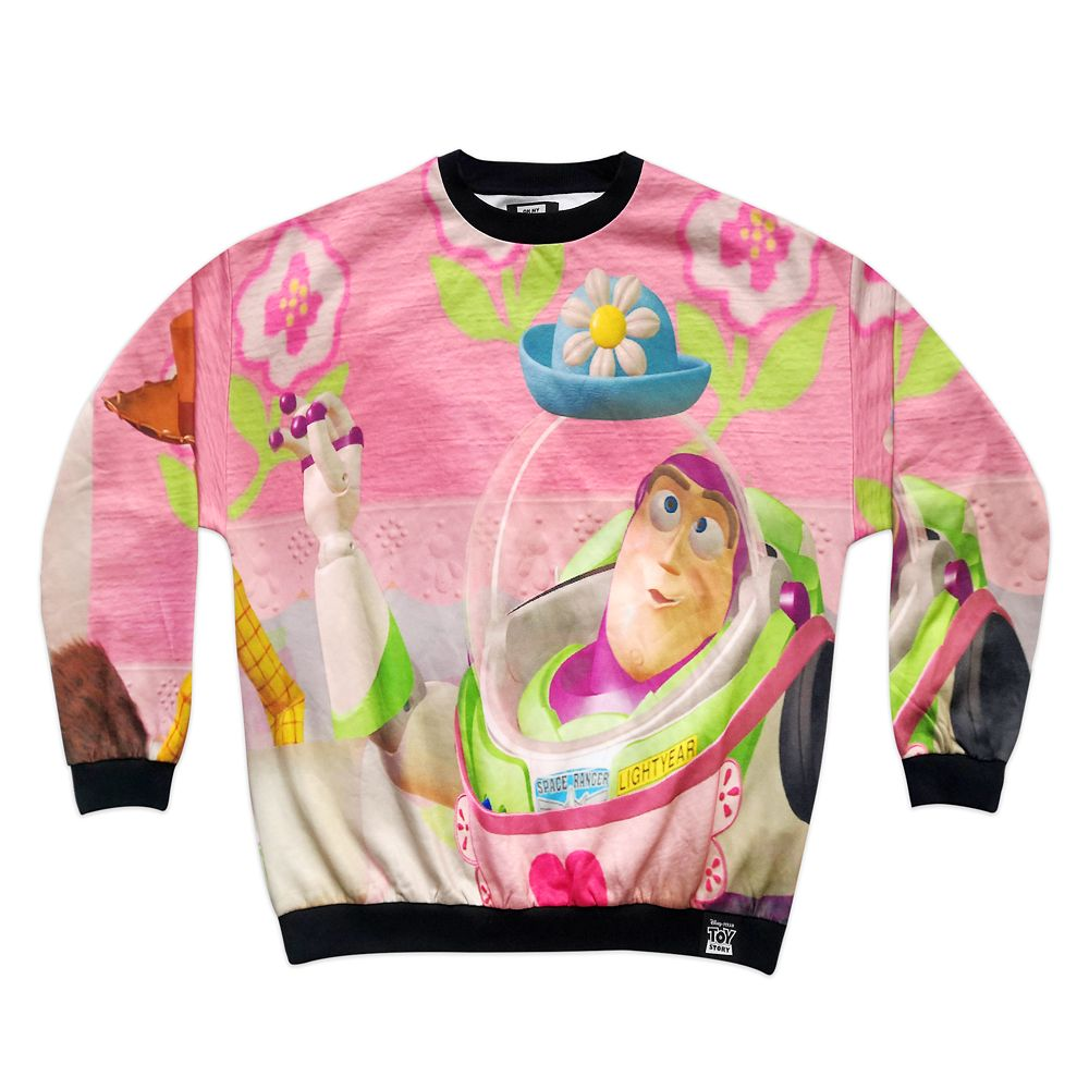 Buzz Lightyear and Woody Sweatshirt for Adults – Toy Story – Oh My Disney